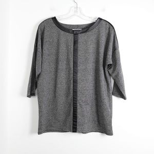 DKNYC NWOT oversized loose fit stretch knit blouse